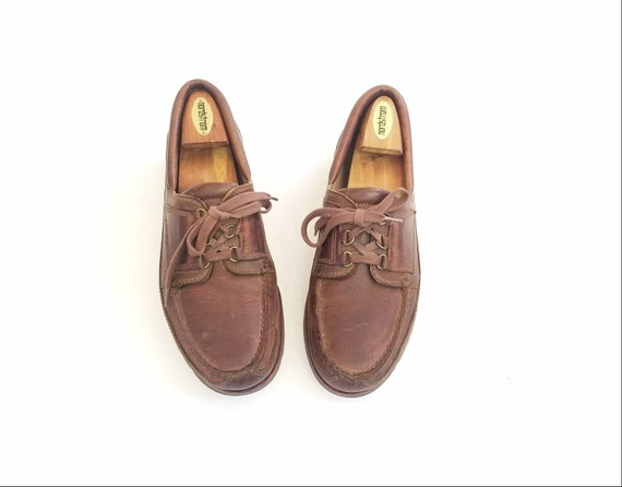Shoes 10 Preppy Sneakers Desert Topsider Casual Work Vintage Brown Classic Rockport Shoes Boat Deck Tie Chukka Shoes Leather Hipster Mens nSUAxfqAI