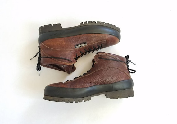 Hiker Boots Outdoor Ankle Hiking Mountaineer Italian Hike 5 7 Vintage Boots Geographic Work Trail Boots Napapijri Bootie Boots Mens Leather wp7TTZ0q