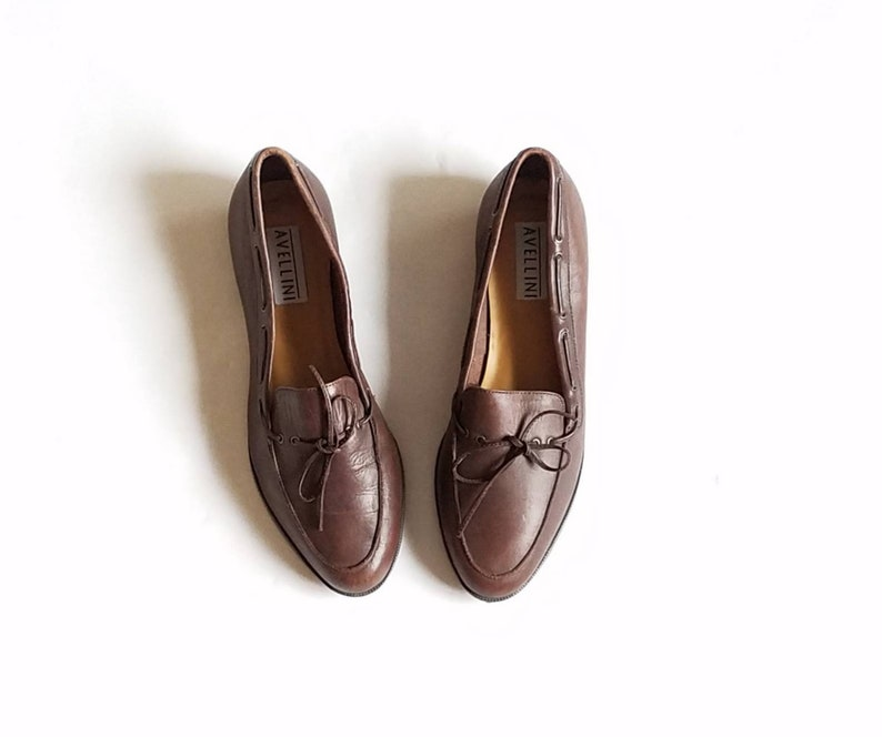 5c05d3b0b0a Vintage Womens 9 Avellini Slip On Loafers Loafer Oxfords