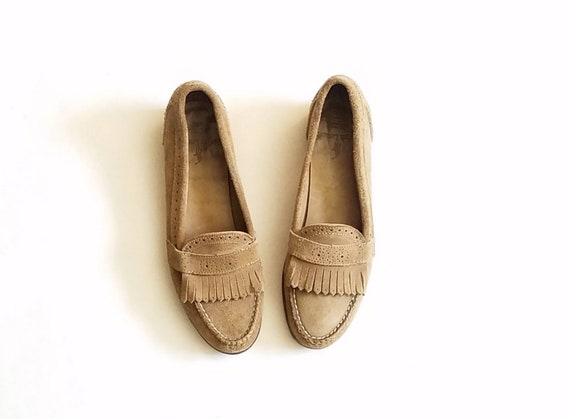 Vintage Mujer 8 Polo Ralph Lauren Loafers Bench Made in Maine Maine in Etsy d68b6c