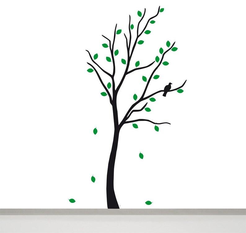 Baum Wandtattoo Kinder Baum Wanddeko Kinderzimmer Deko Etsy