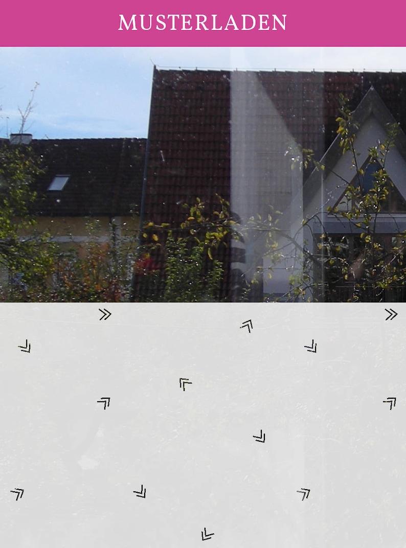Folie Fenster Wohnzimmer Sichtschutz Selbstklebende Etsy