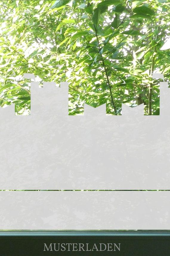 Burg Sichtschutz Kinderzimmer Fenster Fensterdeko Kinder Etsy