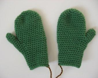 wool child's size 4-5 mittens