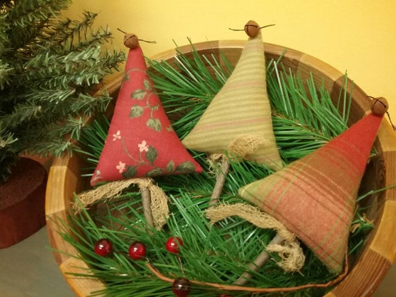 Christmas Tree Bowl Fillers Set Of 3 Ready To Ship Etsy