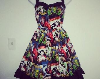 Classic Monster Dress II