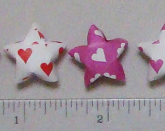 Lucky Stars 100 Small Hearts Printed Paper