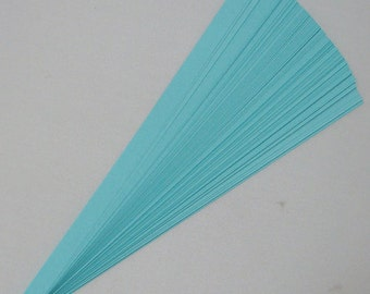 Teal : Lucky Stars Paper Strips (100)