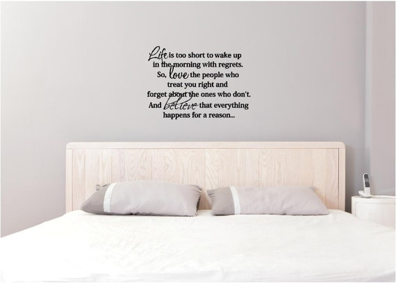 Dont Wake me citer autocollant mural vinyle decal art home proverbes populaires