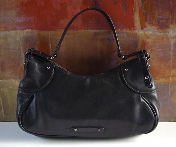 b5cc68a94ba Excellent COLE HAAN Handbag Black Leather Small Bag | Etsy