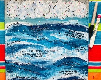 "Oceans of Faith (lyrics from ""Oceans"" by Hillsong United)"