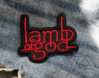 Parche Lamb Of God Patch Sew Or Iron