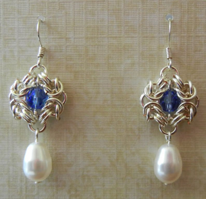 Romanov Chainmaille Earrings image 0