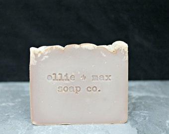 Cappuccino Cold Process Soap, Vegan Soap, Organic Soap, Brown Soap