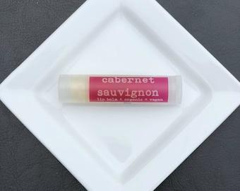 Cabernet Sauvignon Lip Balm, Vegan Lip Balm, Natural Lip Balm