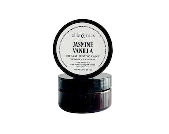 Jasmine Vanilla Natural Vegan Aluminum Free Deodorant Cream