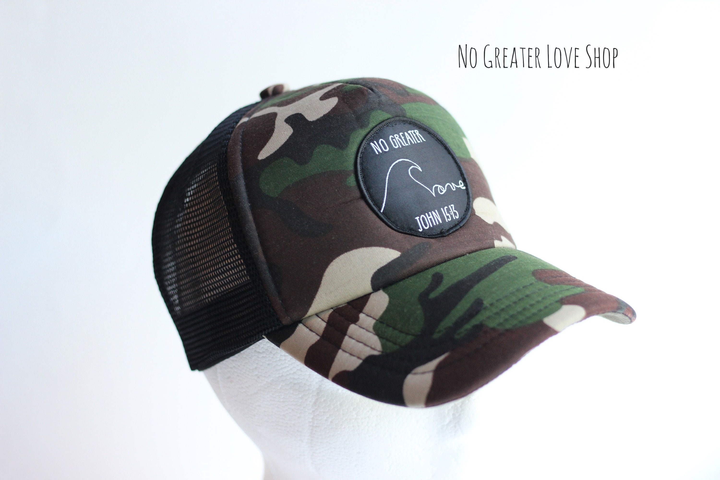 bb2abf16b84 Traditional Camo Trucker Hat Camouflage Hat Baseball Hat