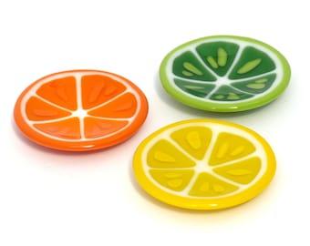 Lemon Dish   Lime Dish   Orange Dish