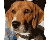 Beagle Needlepoint Pillow DIY Canvas