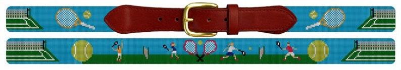 Tennis Needlepoint Belt DIY Canvas