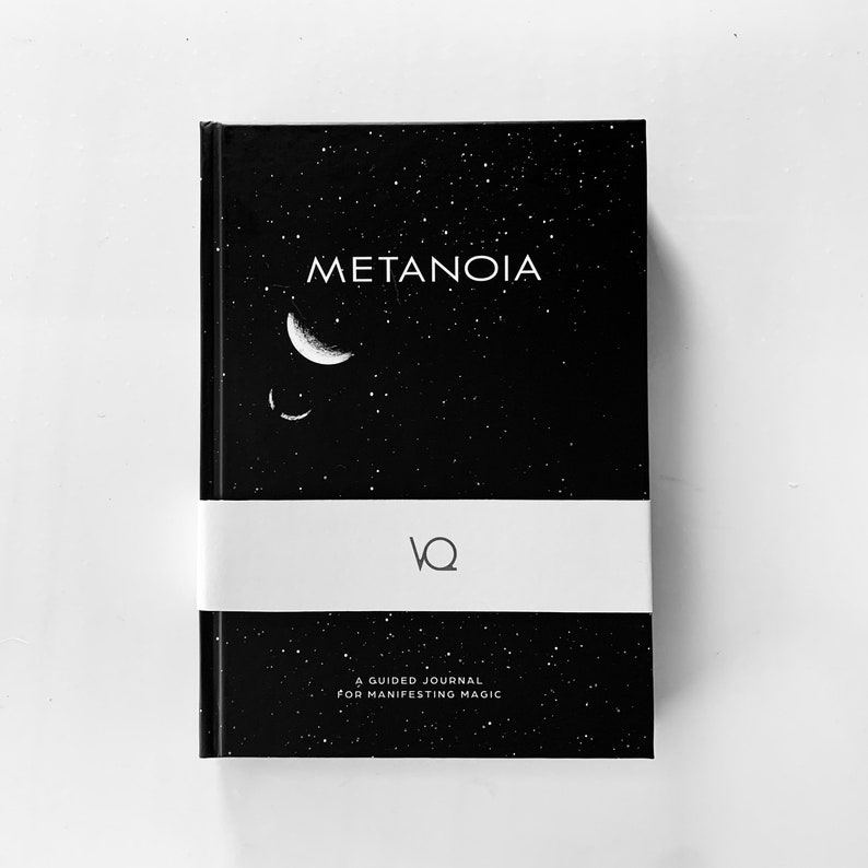 METANOIA Law of Attraction Guided Journal Manifestation image 0