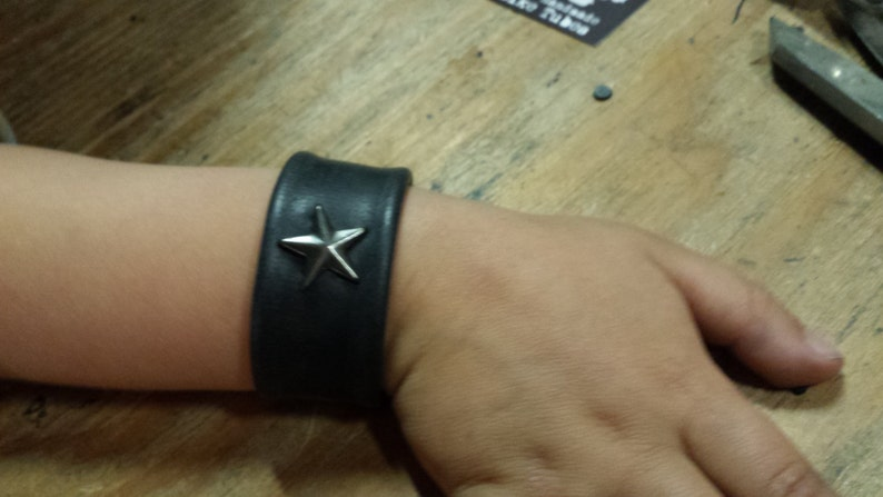 Kids Star Bracelet  Snap Brass Star Bracelet XS For Kids Gift image 0