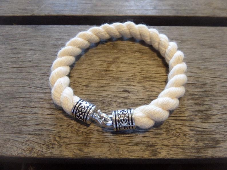 Nautical Rope Bracelet Handmade
