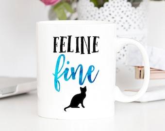 Feline Fine Mug