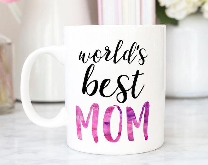 Featured listing image: World's Best Mom Mug
