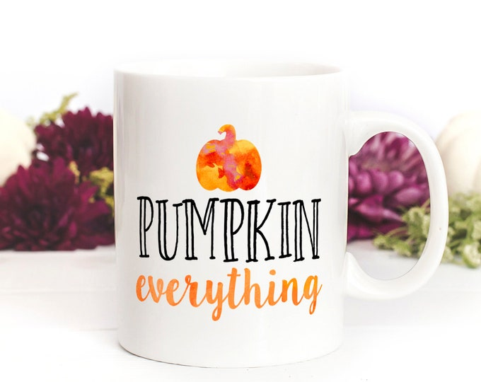Featured listing image: Pumpkin Everything Mug