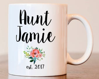 Pregnancy Announcement, Pregnancy accountant mug, Aunt mug, Pregnancy announcement for Aunt, mug for Aunt, gift for new Aunt, Aunt coffee