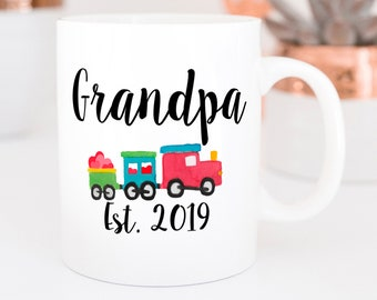 Pregnancy Announcement, Pregnancy accountant mug, Grandpa mug, Pregnancy announcement for grandparents, mug for Grandpa gift for new Grandpa