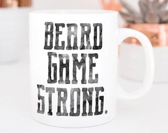 Beard Game Strong Mug
