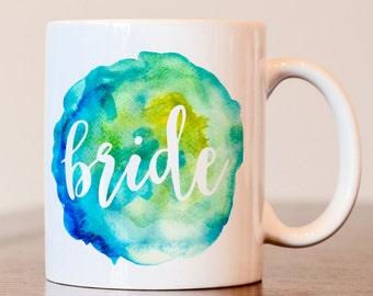 Bride Mug, Wedding Mug, Bride gift, Engagement gift, mug for bride, Engagement mug, Soon to be mrs mug, bride to be gift, gift for bride