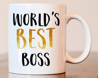 Worlds Best Boss, Bosses Day Mug, Worlds Best Boss Mug, Boss Mug, Administrators Day, Boss Day, Gift For Boss, Gift for Bosses Day