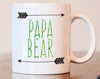 Fathers Day Gift, Papa Bear Mug, Fathers Day Mug, Gift From Grandkids, Gift From Kids, Fathers Day Mug, Papa Bear, Grandfather Gift