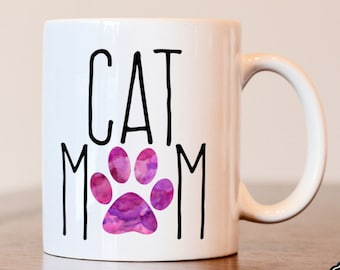 Cat Mom, Cat Lover Gift, Cat Mom Gift, Cat Mom Mug, Gifts for Cat Lover, Crazy Cat Lady, Cat Lover, Cat Mug, Cat Gifts,  Pet Owner Gifts