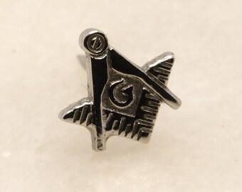 Small Masonic Tie Tack