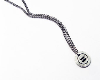 Equal Sign Jewelry - Equality Necklace with Equals Symbol Pendant - Math Teacher Jewelry Gift