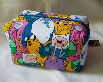 Adventure Time Box Zipper Pouch
