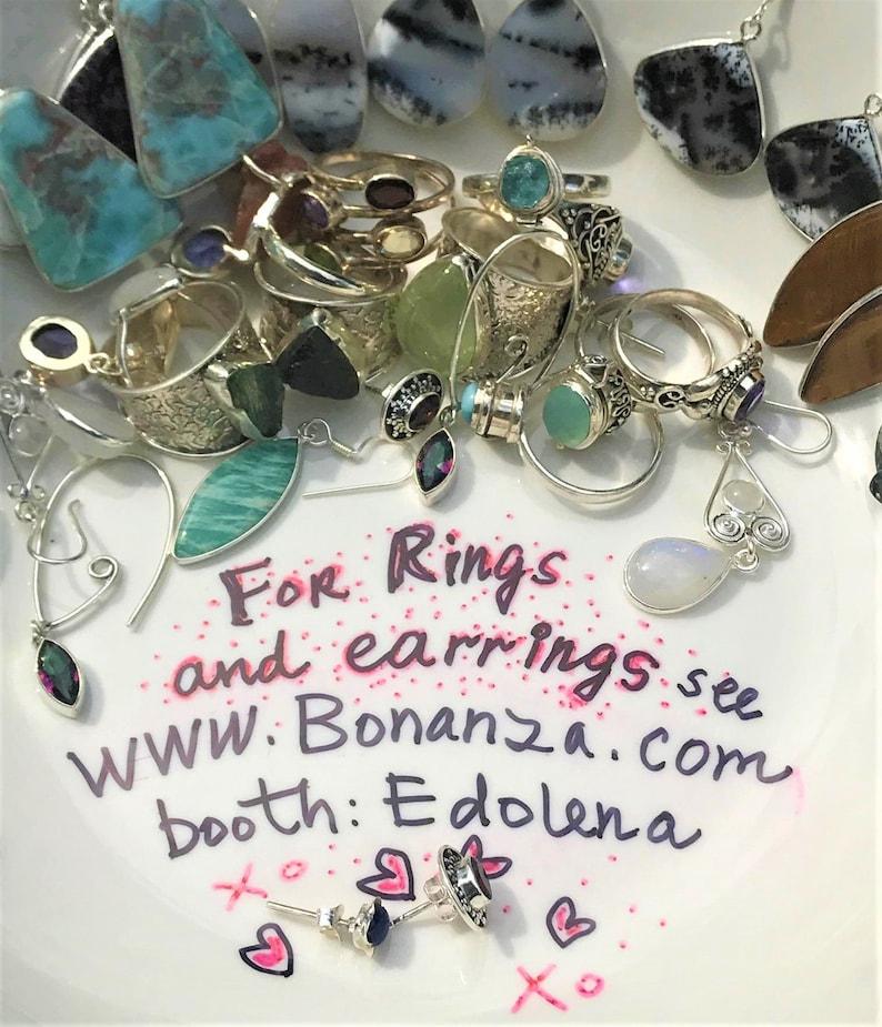 Sale Beautiful Healing Kyanite earrings 925 Silver