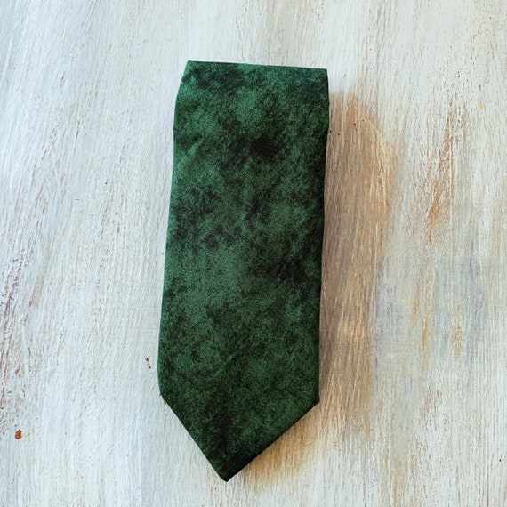 Dark Cyan linen wedding necktie  Eco friendly wedding ties  Anniversary gift