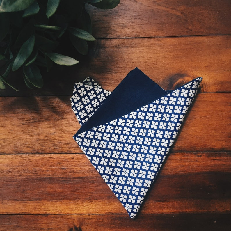 Groomsmen Gifts for Him Cotton Pocket Squares Casual Pocket Square Pocket Square || Prague || Lord and Lady|| Sustainable Design
