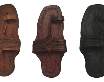 f6eb276938f Handmade Hippie Jesus Buffalo Sandals 100% Leather ~ Custom Colored to Your  Order