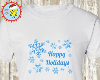 Volleyball Christmas Happy Holidays Volleyball Snowflakes t-shirt, hoodie or baby one piece