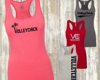 Volleyball Jersey Racer-back tank