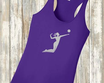 Volleyball Performance Competitor Tank Top