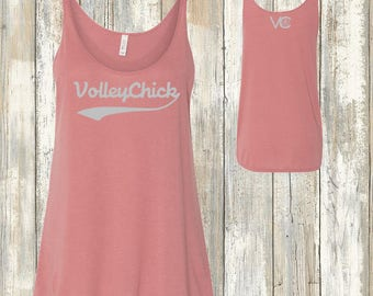 Volleyball Swoosh Swing Tank Top