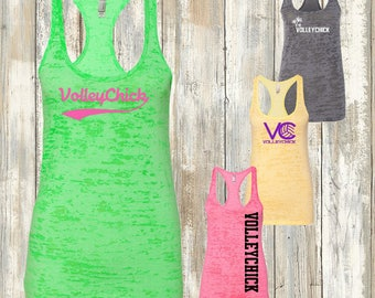 Volleyball burnout tank