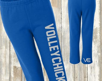 YOUTH size VolleyChick  Volleyball Sweatpants